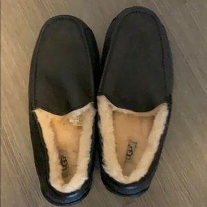 Mens black ugg slippers